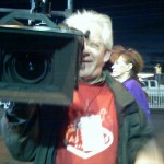 on camera for Sneaker Confidential, Las Vegas Marathon (2006 December 10) Las Vegas NV