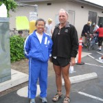 Cathy and Todd at CSULB Reverse Triathlon