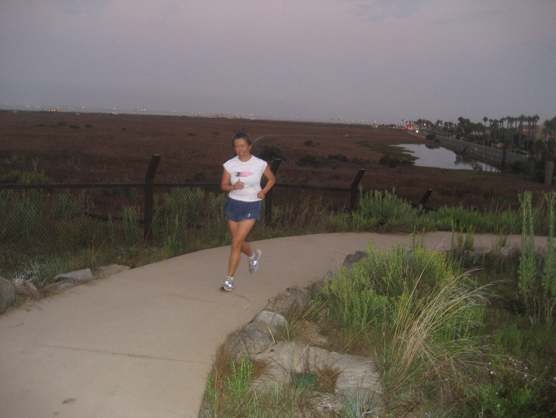IMG_2032 Cathy running