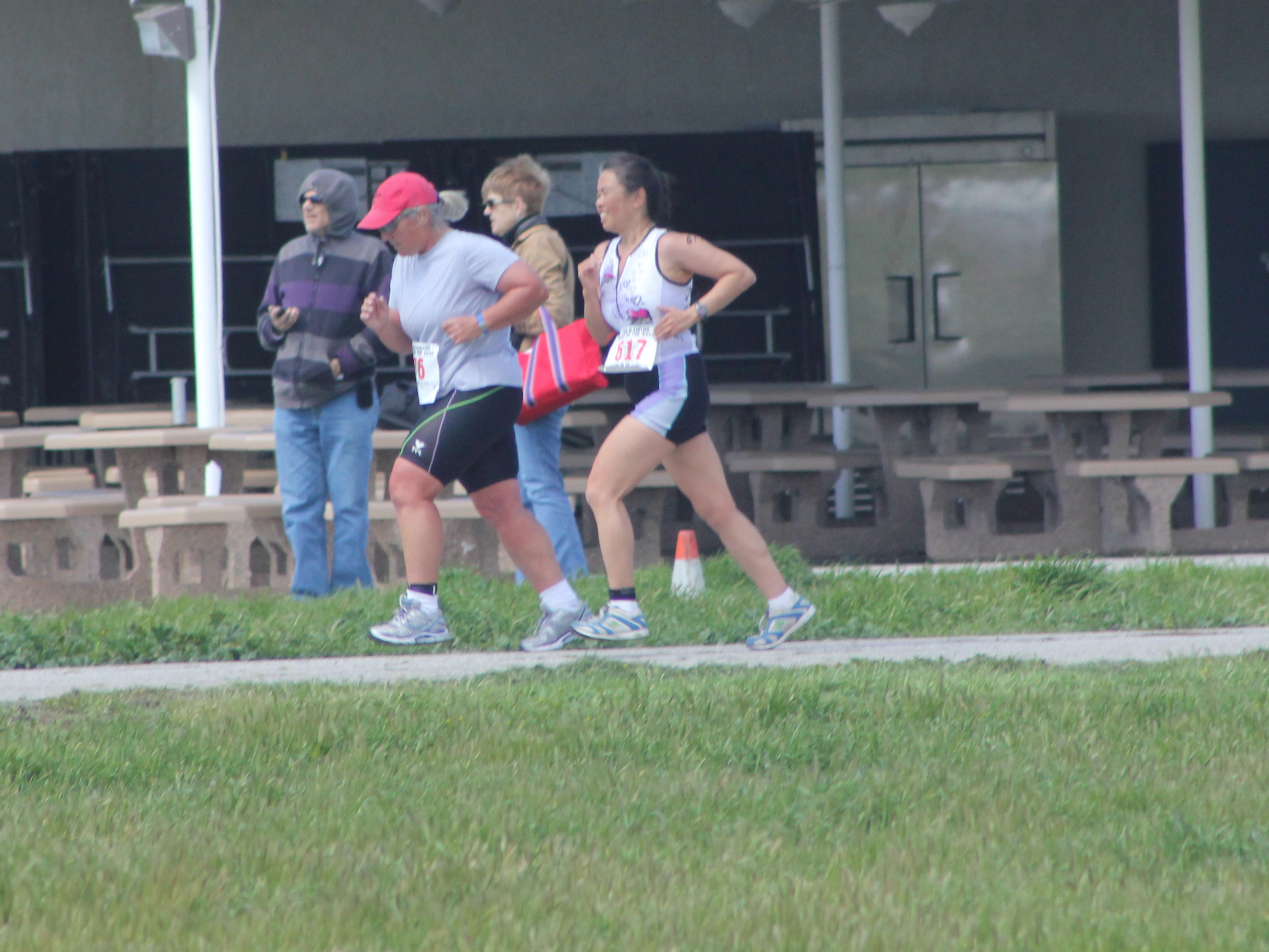 Cathy running