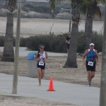 Cathy barefoot, SheRox Triathlon (2011 October 15) San Diego CA