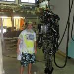 Ken Bob and robot at M.I.T.