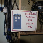 Reserved Parking for Doctor Who