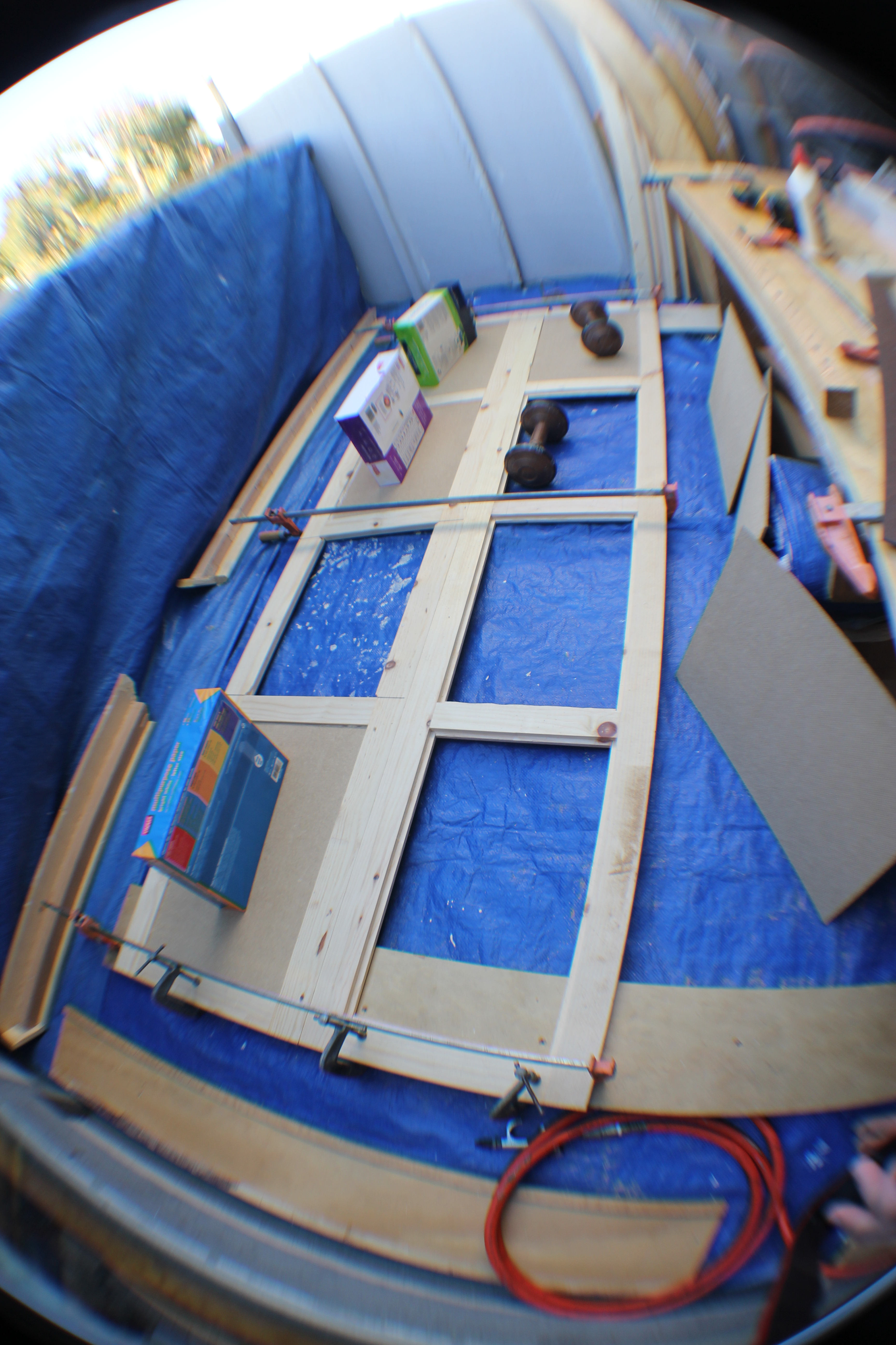 Doors and side panel construction