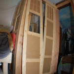 TARDIS side panels installed