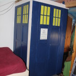 TARDIS is ready for a trip across the pond