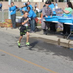 Fastest runner in the kid's 1K (0.6 miles)