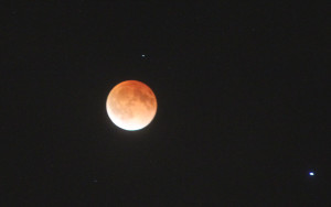 Lunar eclipse 2014 April 14 Tuesday 1:29am