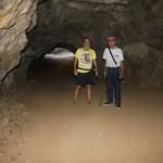 Ken Bob and Uncle Dave at the Batcave