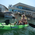 Psycho Herman and Ken Bob on kayak