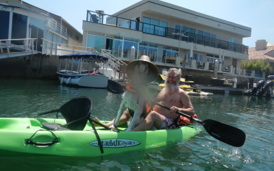 Psycho Herman and Ken Bob on kayak