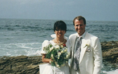 1990-08-25 Wedding Cathy and Ken