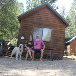 So we went on a road trip, and here we are at Yosemite Pines RV Resort
