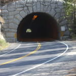 Tunnel near Yosemite Park