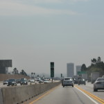 heading back toward Los Angeles, Wilshire district