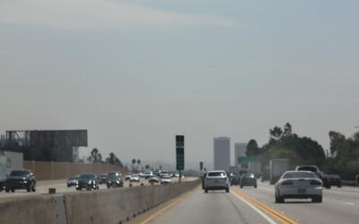 heading back toward Los Angeles, Wilshire district